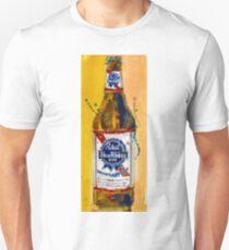 Pabst Blue Ribbon Beer Bottle Unisex T-Shirt