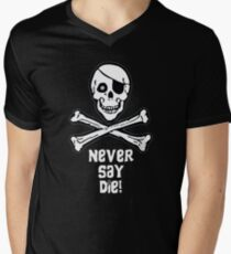 Never Say Die (White Text) T-Shirt
