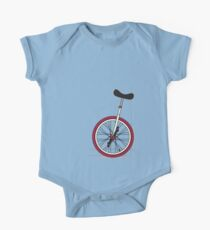 Unicycle By Wall One Piece - Short Sleeve