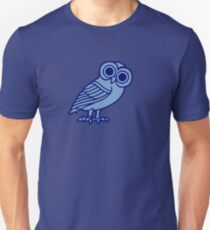 greek owl greece athena Unisex T-Shirt