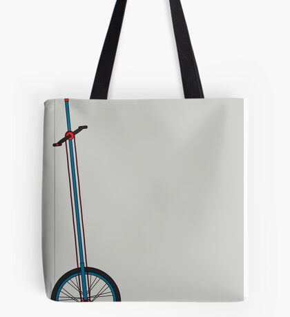 Very Tall Unicycle Tote Bag