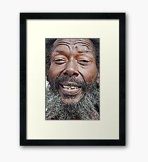 butch zoning  Framed Print