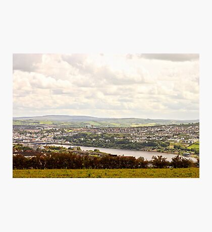 View from a hill Photographic Print
