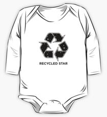 Recycled Star - Inverted One Piece - Long Sleeve