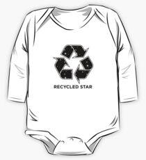 Body de manga larga para bebé Estrella reciclada - Invertida