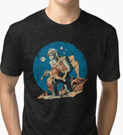 Damsel in Distress Tri-blend T-Shirt