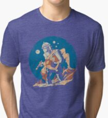 Damsel in Distress Tri-blend T-Shirt