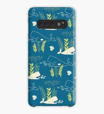 Very Hungry Whale Case/Skin for Samsung Galaxy