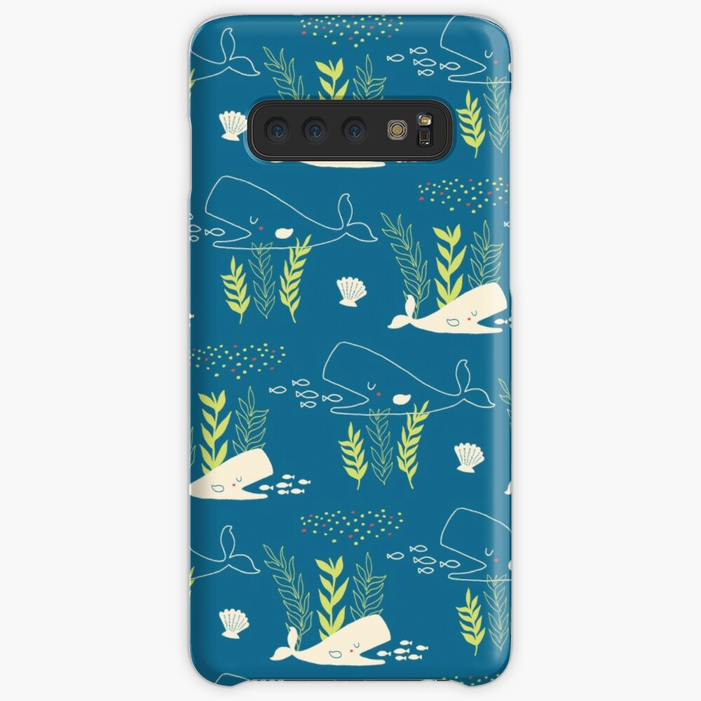 Very Hungry Whale Case & Skin for Samsung Galaxy