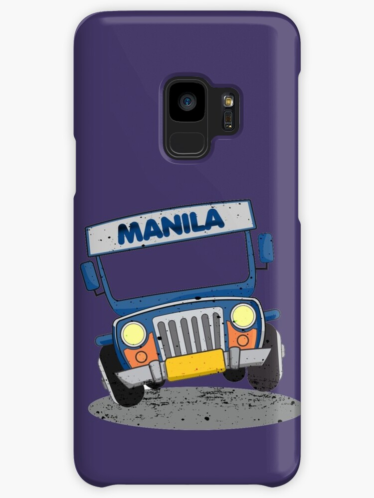 Philippine Jeepney Cartoon Cases Skins For Samsung Galaxy By Eli