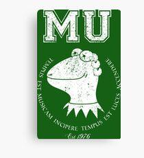 Muppet University Canvas Print