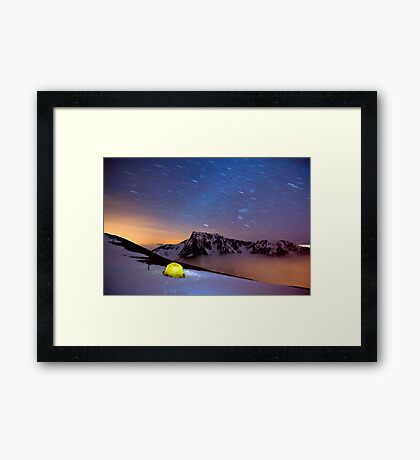 Star Trails over Ben Nevis Framed Print