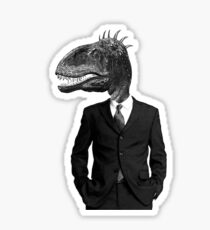 The Saurus Society - No Extinction Theory Sticker