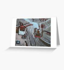 Goathland station Greeting Card