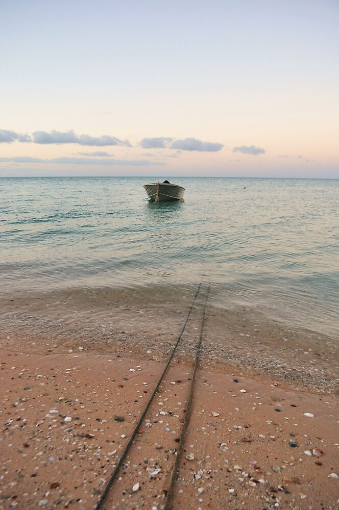 Lonely Boat by Keri Buckland