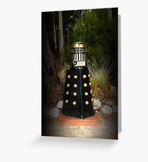 Dalek Letter Box Greeting Card