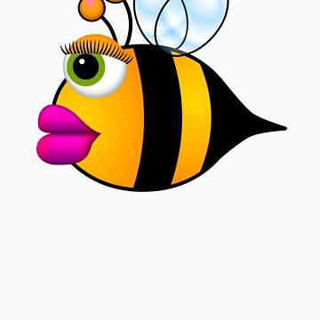 Bee Girl by M4H4RG