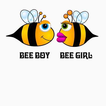 Bee Boy Bee Girl 2 by M4H4RG