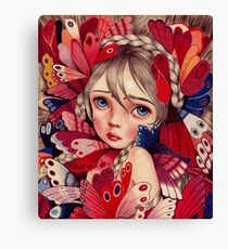 Butterfly Sanctuary  Canvas Print