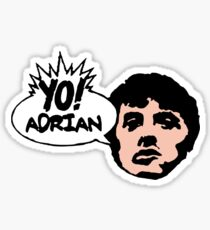 Yo! Adrian Raps Sticker