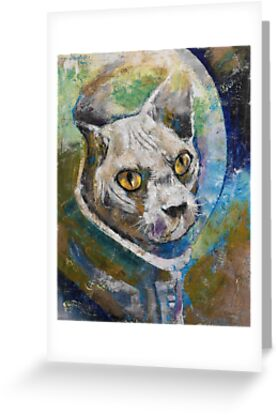 Space Cat by Michael Creese
