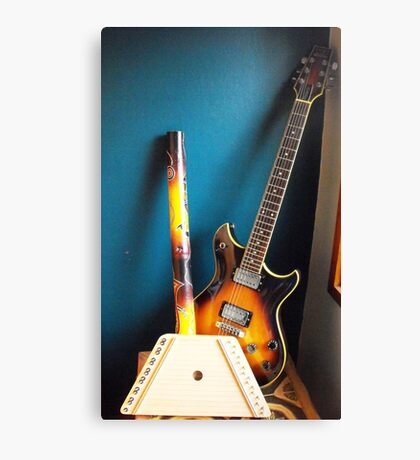 The Instruments of my life Canvas Print