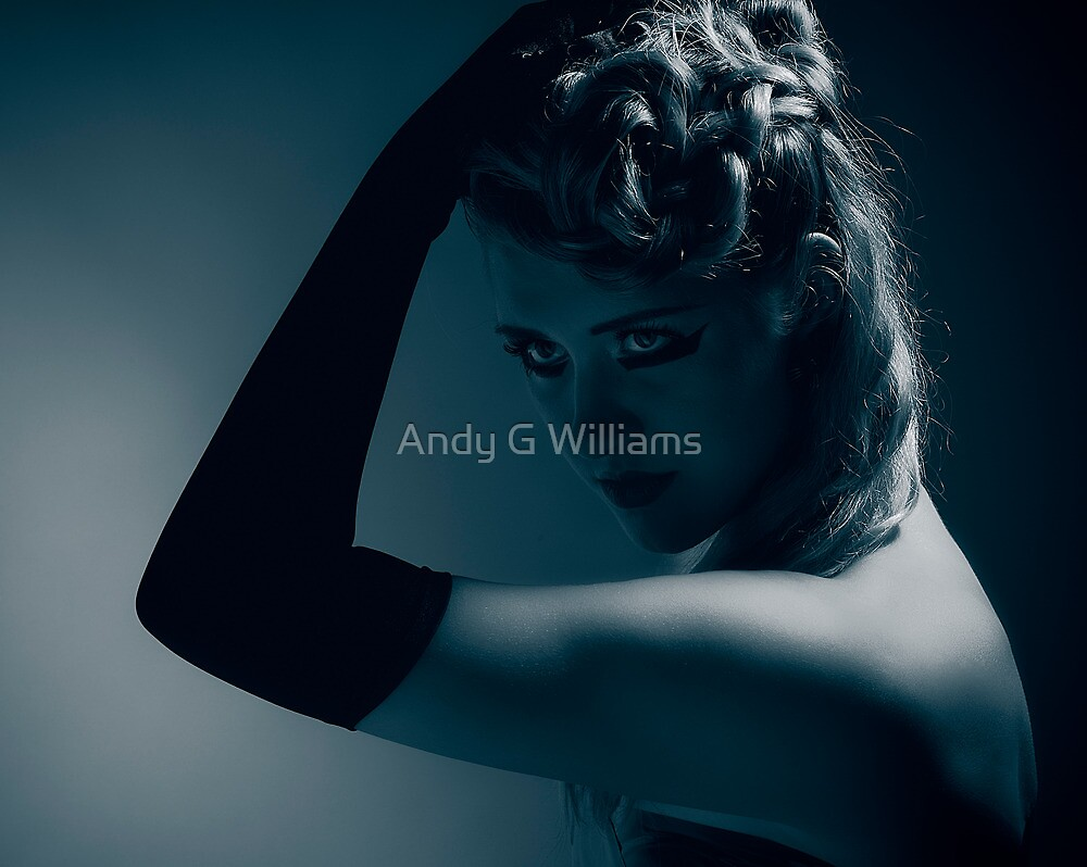 Blue by Andy G Williams