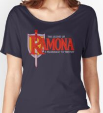THE LEGEND OF RAMONA Women's Relaxed Fit T-Shirt