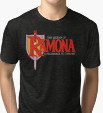 THE LEGEND OF RAMONA Tri-blend T-Shirt