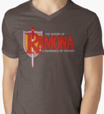 THE LEGEND OF RAMONA Men's V-Neck T-Shirt