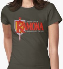 THE LEGEND OF RAMONA Womens Fitted T-Shirt