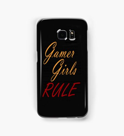 Gamer Girls RULE Samsung Galaxy Case/Skin