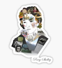 Percy Shelley's Life Sticker