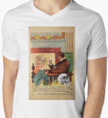 Trophy (Vintage Halloween Card) Mens V-Neck T-Shirt