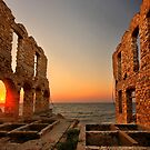 The twilight of the old tanneries - Samos island by Hercules Milas