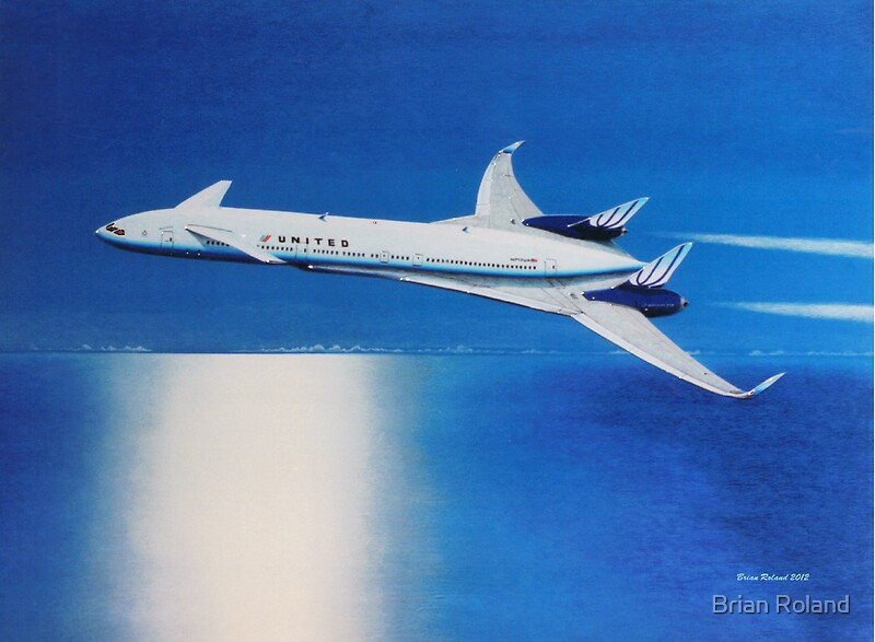 Quot Boeing Sonic Cruiser Concept Aircraft Quot Posters By