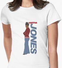 JONES. Martha Jones. Women's Fitted T-Shirt