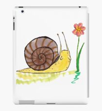 Snail Friend iPad Case/Skin