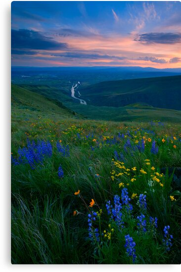 Selah Sunset by DawsonImages