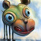 Hippo Dog by Tom Godfrey