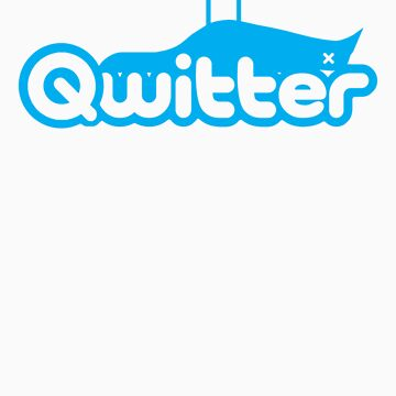 Qwitter Blue by FAMOUSAFTERDETH