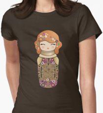 Kokeshi cute Klimt girl T-Shirt