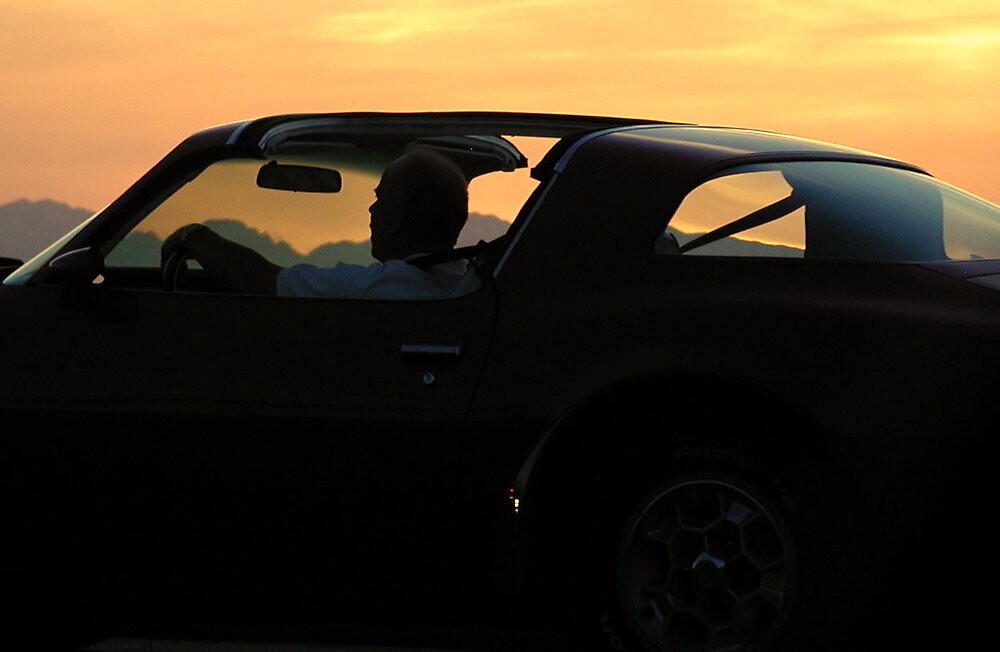 Sunset on Alki by Laurel  Coleman