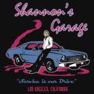 Shannon's Garage by ninjaink
