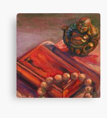 Buddha and The Red Box Canvas Print