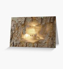 In The Name Of God Greeting Card