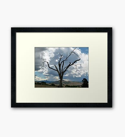 Skeleton Hill Framed Print