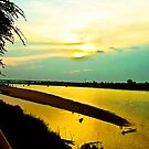 MRC River and sunset in my heart... by Kornrawiee