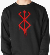 Berserk Sacrifice Emblem with blood Pullover
