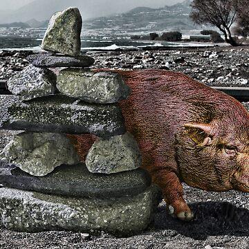 Pinky Piggy by GolemAura